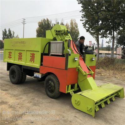 清理各种粪污残粪刮粪车 为养殖场设计清粪车