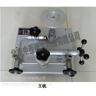 中西活塞式压力计 ( 1-60MPa 0.05级)型号:XT10/M231614库号:M231