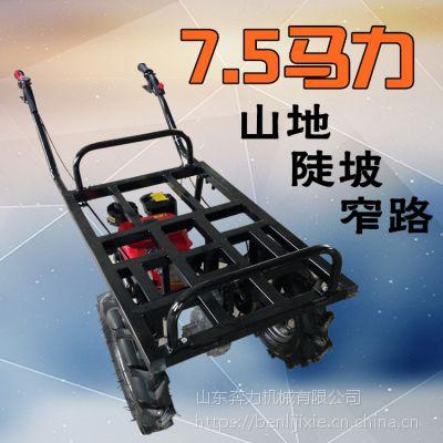果园运输推车 带刹车的汽油平板车 奔力SL-BO7