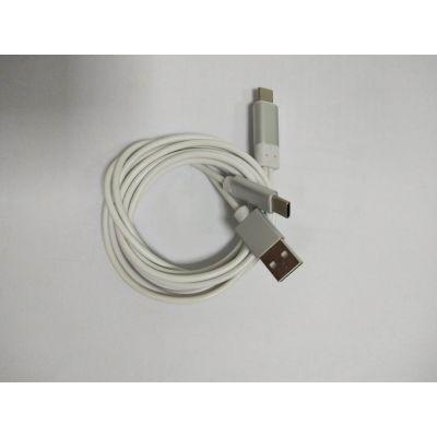 type-C接口转type-c带充电转接头网络主播声卡专用线