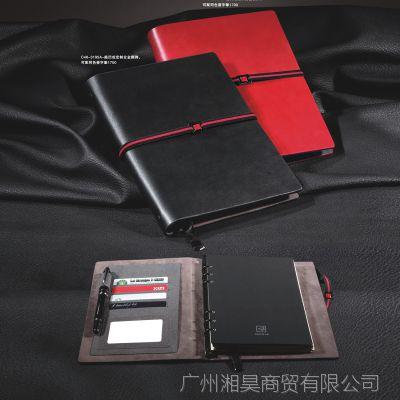 高档商务变色仿皮金属笔记本定制 创意文具礼品定做尺寸pu记事本