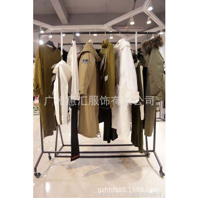 北京女士服装尾货批发外套酒红色其他拉夏贝尔女装品牌尾货