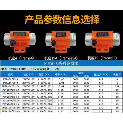 选择成都MVE震动电机型号一定要找普田厂家