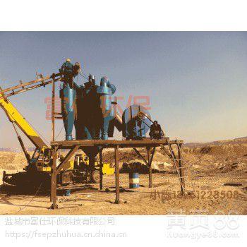 塔楼式制砂筛分系统富仕环保厂家设计