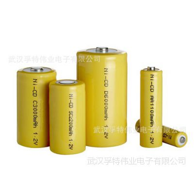 VFOTE孚特伟业提供高性能工业产品专用系列镍镉可充电池