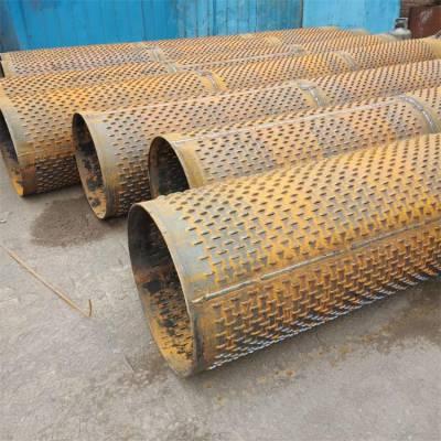 浙江DN273*4金属花管降水井用井壁管、实壁管一米报价