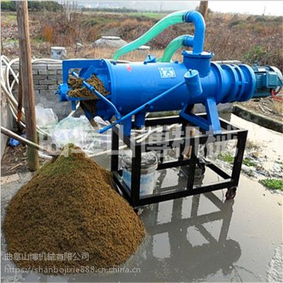 哪里卖的固液分离机价格便宜 猪粪处理粪尿固液分离机 山博机械
