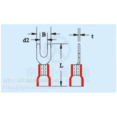 日本富士PVC绝缘叉形端子VS1.25-6SB 现货特价