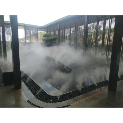 清远房地产社区公园喷雾设备/景观喷雾造价