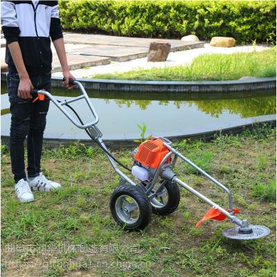单人背负式割草机 大棚翻地松土机 转盘式打草机