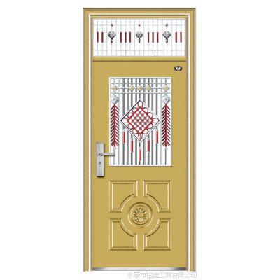 【金福鑫】JFX-9657,非标门,防盗门,镀锌氟碳漆门,楼宇门