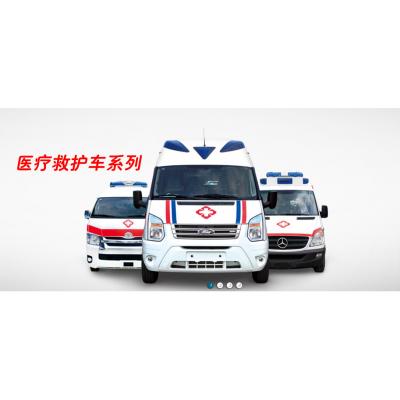 新全顺V362救护车高速低油耗性价比高
