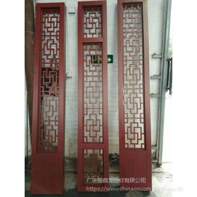 南昌水果店铝花格 大足铝花窗 仿古中式门窗格子