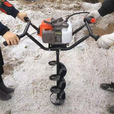 富兴批发多功能挖树坑机 林业植树打坑机 大马力挖穴钻地机