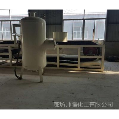 帅腾出售建材生产加工机械A级阻燃匀质板设备 保温板生产线