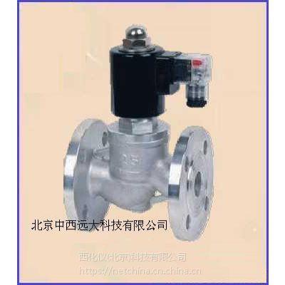 中西 不锈钢电磁阀DN50 220V 型号:TB435-ZBSF库号:M403468
