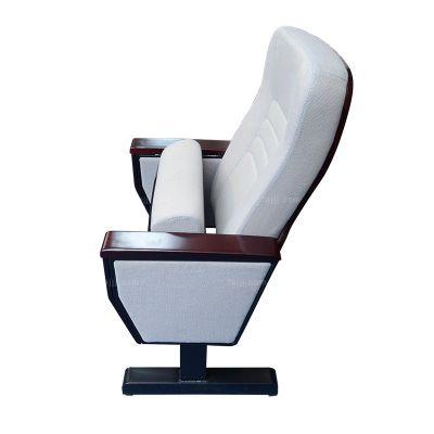 扶板钢脚软包椅 来宾礼堂连排椅 贵港钢棉木家具