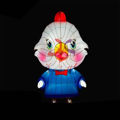 2020鼠年大型灯会制作民间工艺品卡通造型十二生肖花灯动物灯展来图定制