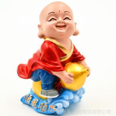 中国风工艺品摆件创意小和尚家居饰品 装饰摆设 展会会销礼品礼物