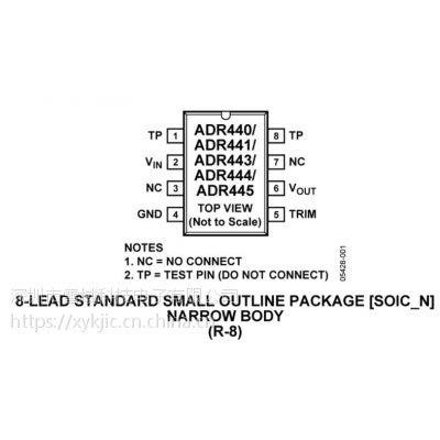 ADR444BRZ-REEL7【ADI专营】其他IC 基准电压源