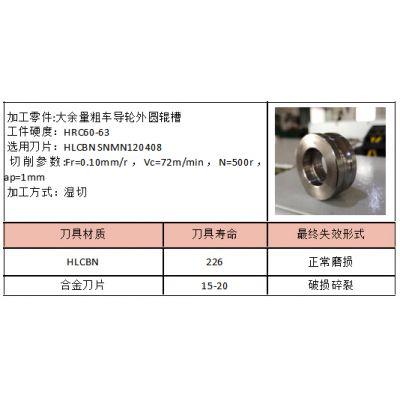 导轮/导辊外圆辊槽用数控车槽刀片SNMN1204【立方氮化硼高硬度耐磨材质】