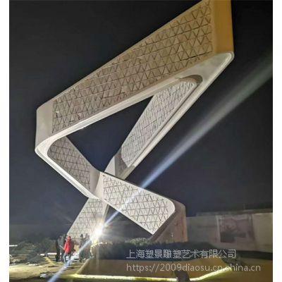 浙江不锈钢大型灯光雕塑 广场景观雕塑灯