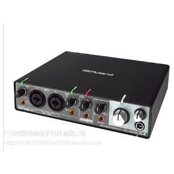 总经销罗兰(Roland) Rubix 22 USB专业录音声卡 2进2出带双话放
