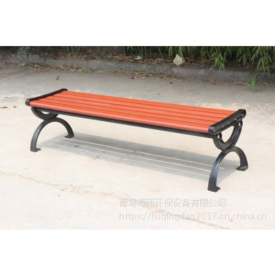 户外休闲椅 塑木座椅 厂家直销铸铁公共休闲椅 可定制