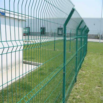 三角折弯防护网 小区围网 公园围墙网
