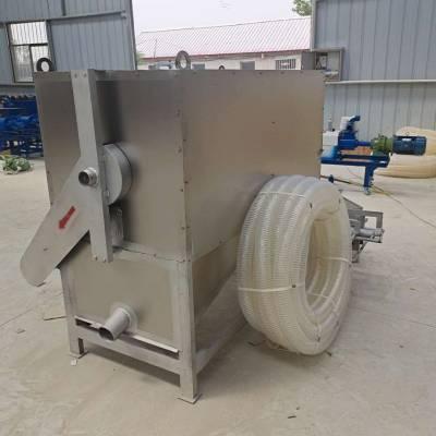 粘稠鸡粪固液分离机 螺旋式鸭粪甩干机 猪粪环保处理机