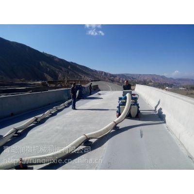 青岛手推式钢板抛丸机,便携式路面抛丸机,移动式路面打毛机