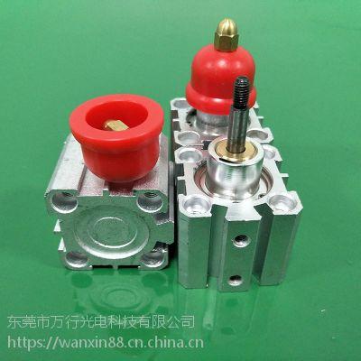 加工产品振刀减缓夹具气动空压浮动支撑辅助缸