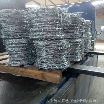 刺绳护栏图片 刺丝围栏直径 湘潭刺丝滚笼