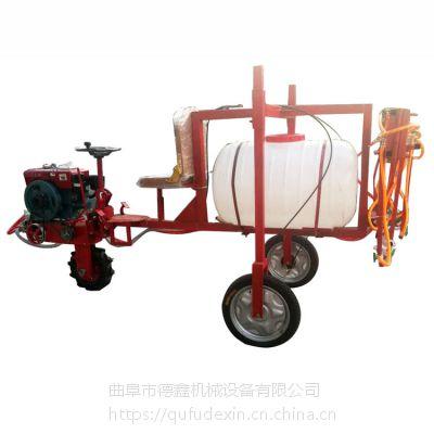 高地隙农作物专用三轮车打药机 带档位座驾式小麦玉米灭虫打药机