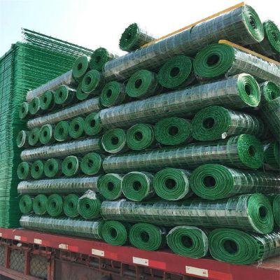养殖专用铁丝围网 圈地护栏网 浸塑养殖护栏网