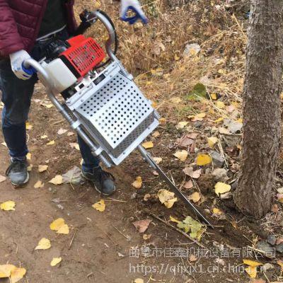 小树苗挖树机 手提汽油移苗挖树机 佳鑫大马力移苗机价格
