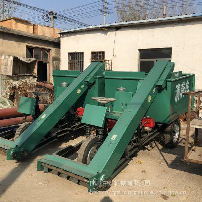 牛场行走顺畅的清粪车 环境处理高效的运粪车 中泰机械