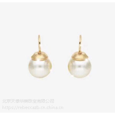 rebecca珠宝饰品珍珠简约女式耳环