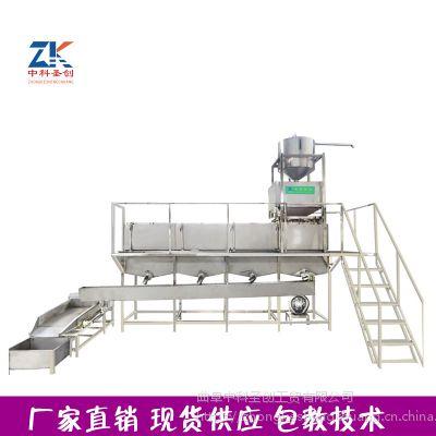 大型豆制品配套设备 自动定时黄豆浸泡系统 2吨黄豆泡豆池厂家可定制