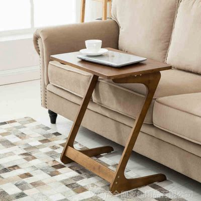 沙发电脑桌简约移动式边桌现代床边欧式桌笔记本简易茶几桌子