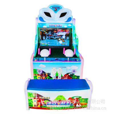 新款儿童投币射水机游戏机大型双人射水打水枪电玩城娱乐设备