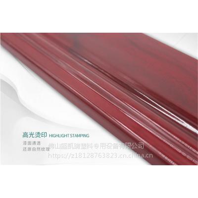 热销盛凯瑞PVC踢角线生产设备Sjz-65型踢脚线挤出机