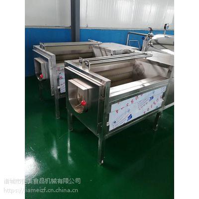 鲜芋头清洗去皮设备(价格) 食品级不锈钢 佳美鲜(生)姜清洗去皮机