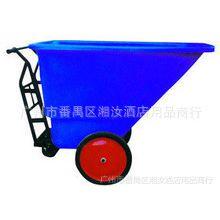 废物清运/倾卸斗车 垃圾车 清洁车 垃圾桶 白云350L