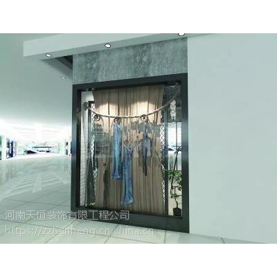 郑州女装专卖店装修河南时尚女服装店设计公司案例非常讲究
