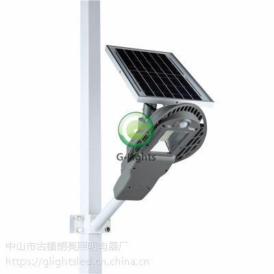 跨境专供80瓦新农村节能改造智能雷达感应分体式LED太阳能路灯