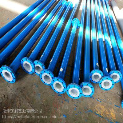 Q235材质两端焊接法兰饮用水输送衬塑钢管 6寸*4.5mm碳钢焊接钢管