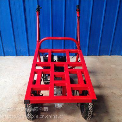 能在渔船上装卸货推车 正品汽油储运手扶车 奔力SL