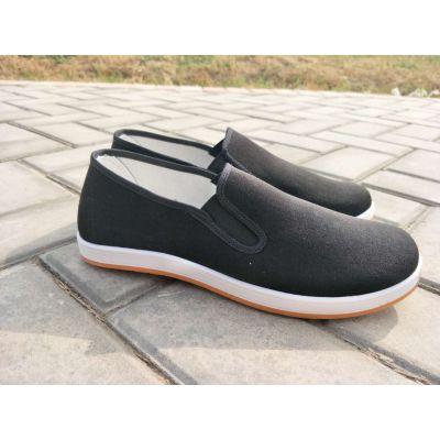 老年人手工布鞋舒适爸爸鞋老北京布鞋