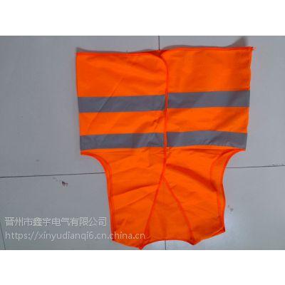 反光背心施工程荧光环卫工人马甲交通安全衣服汽车用夜间外套